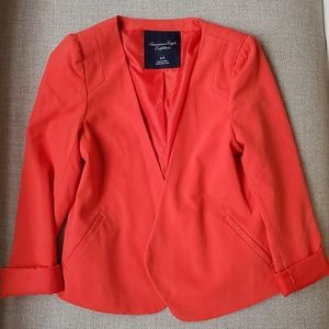 American Eagle Outfitters Orange Blazer S